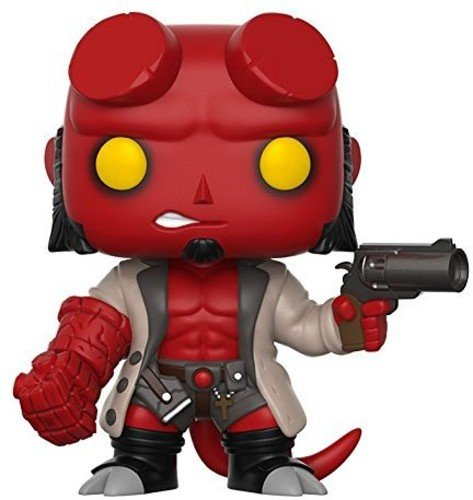 Funko Pop Comics: Hellboy No Horns Collectible Vinyl