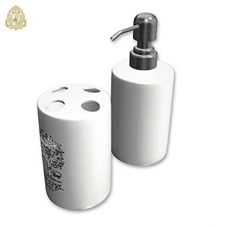 """Dispensador de jabón personalizado/Porta cepillo de dientes, , Diseño """"EWIG -"""