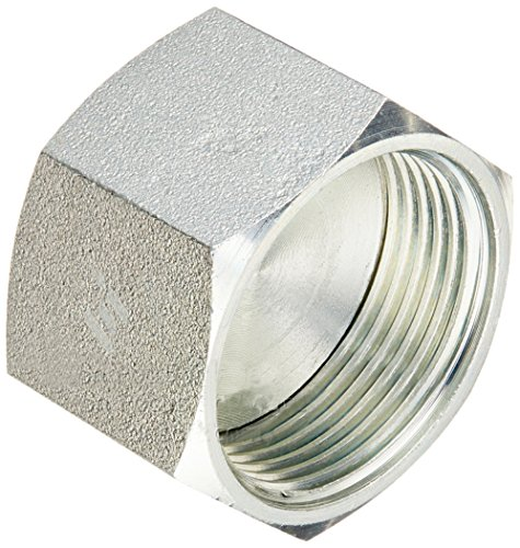 (Brennan Industries FS0304-C-16 Steel Cap Assembly Insert for O-Ring Face Seal Fitting, 1