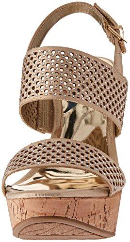 Gold Carlos Santana Wedge Sandal by Damen Beverlee Carlos 7qnzH1xR