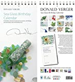 Best Donald Verger Photography Anniversary Gifts For Women - Sea Glass Birthday & Anniversary Perpetual Calendar. 5x11 Review