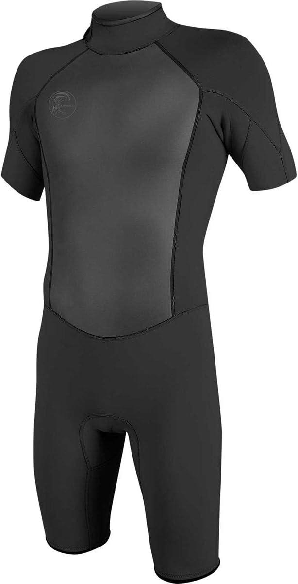 O'Neill Men's O'Riginal 2mm Back Zip Sleeveless Spring Wetsuit, Black/Black, L