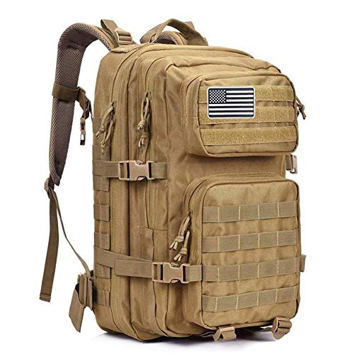 MEWAY 42L Military Tactical Backpack (Khaki) 30 Series Bow Tie