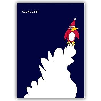 Lot De 10 Joyeux Noël Carte Carte De Voeux Humour Avec