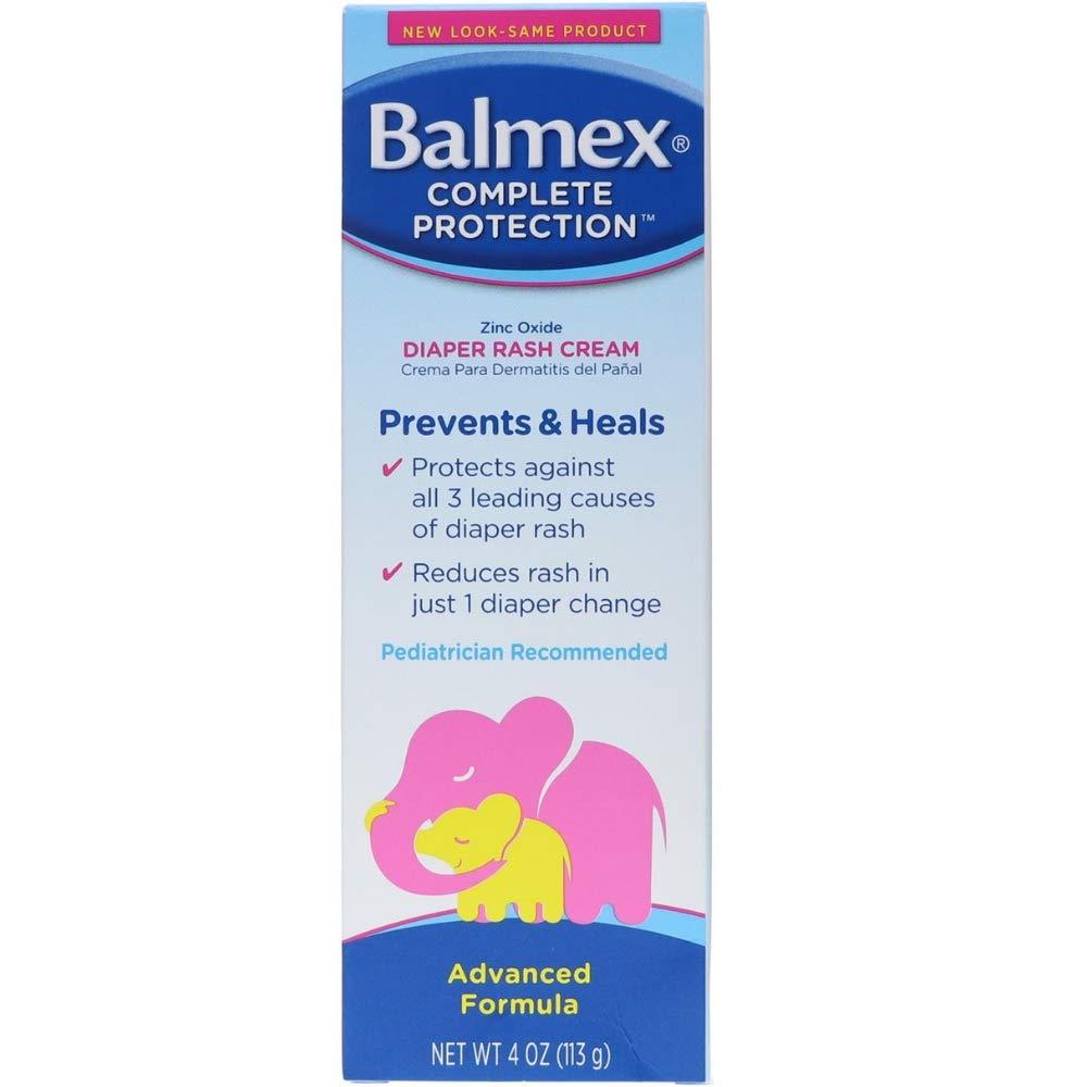 Balmex Diaper Rash Cream 4OZ (Pack of 16)