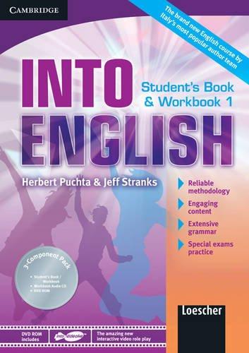 Into english. Student's book-Workbook-Maximiser. Per le Scuole superiori. Con CD Audio. Con DVD-ROM. Con espansione online: Into English Level 1 ... Maximiser w- AudCD Ital Ed [Lingua inglese]