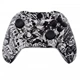 ModFreakz™ Shell Kit Hydro Dipped Grave White Skull For Xbox One Model 1537 Controllers For Sale