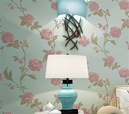 Sitting Room Bedroom Background Wall Stickers Home Decoration(Dark Green) - 5