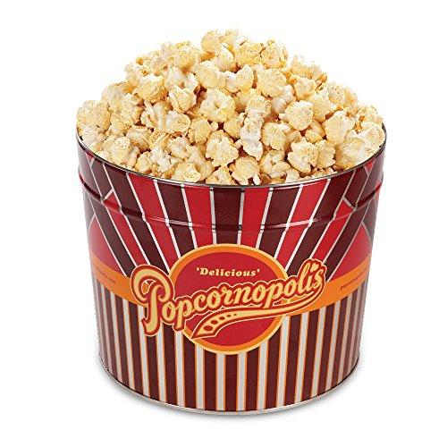 Popcornopolis Gourmet Popcorn 1.26 Gallon Tin (Kettle)
