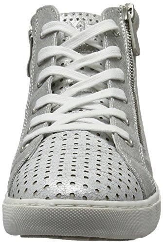 Marco Tozzi Women's 25200 Hi-Top Sneakers Silver (Silver Comb 948) RHkszBUf04