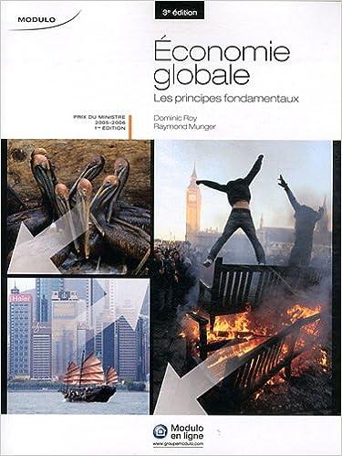 Lire Economie globale : Les principes fondamentaux pdf, epub