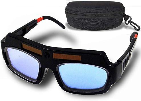 1 Welding Helmets Pair Black Solar Auto Darkening Goggle Safety Protective Mask
