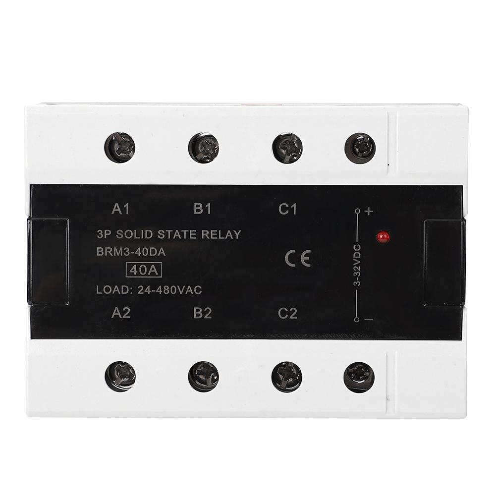 3 Phasen Relais eingebauter Widerstandskapazit/äts Absorptionskreis DC Steuerung AC Halbleiterrelais AC24-480V