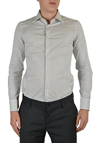 Etro Men's Multicolor Long Sleeve Dress Shirt US 15.5 IT 39