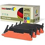 Pack 4 TONER EXPERTE® Compatibles Cartouches de Toner pour Samsung CLP-360, CLP-360N, CLP-365, CLP-365W, CLP-368, CLX-3300, CLX-3305, CLX-3305FN, CLX-3305N, CLX-3305W, CLX-3305FW, Xpress C410W, C460W, C460FW, C467W, CLT-K406S, CLT-C406S, CLT-M406S, CLT-Y406S
