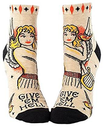 Blue Q Damen Socken Bunt 12 SW634