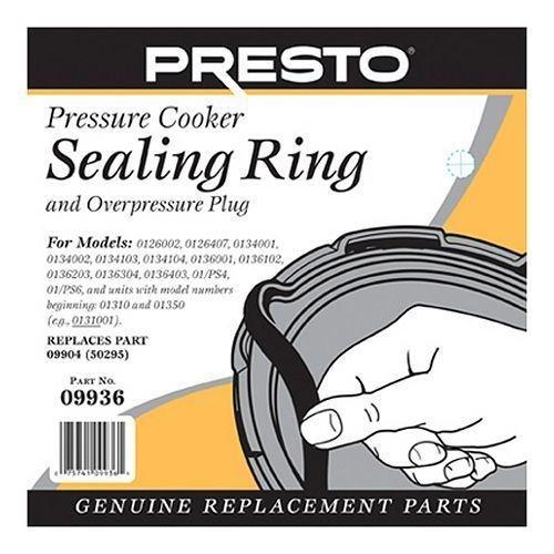 Presto-09936-Pressure-Cooker-Sealing-Ring-Gasket (09936 Pressure Cooker Sealing Ring)