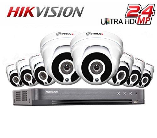 Hikvision CCTV Security System DVR 8CH DS-7208HQHI/K1 Digital Video...