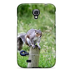 Hot New Nature Animals Squirrels Case Cover For Galaxy S4 With Perfect Design