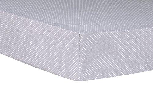 Trend Lab Safari Chevron Dot Fitted Crib Sheet, -
