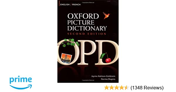 oxford picture dictionary english french pdf free download