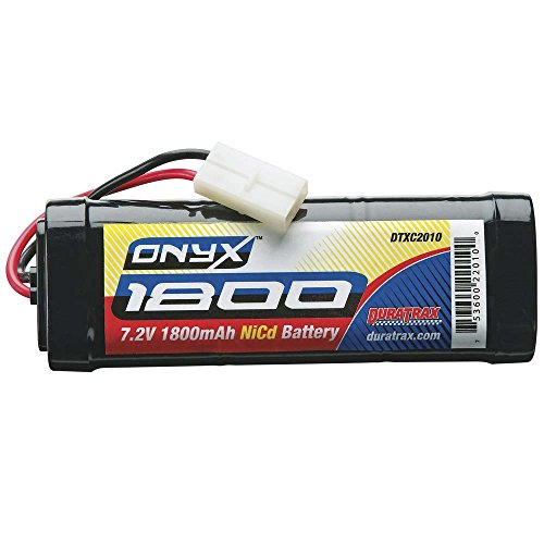 Duratrax Onyx NiCd 7.2V 1800mAh Stick Battery Pack with S...