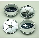 4pcs W053 68mm Car Styling Accessories Emblem Badge Sticker Wheel Hub Caps Centre Cover SUBARU LEGACY OUTBACK FORESTER Impreza WRX BRZ