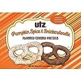 Utz Pretzels - Utz Pumpkin Spice & Snickerdoodle Flavored Covered Pretzels LIMITED EDITION