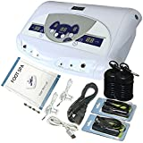 Zinger Ionic Foot Bath Detox Machine,Dual-User Aqua Chi Ion Detox Foot Bath Cleanse System with Music.