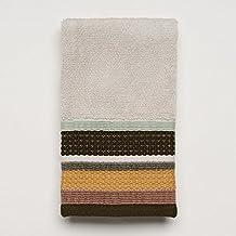 """""""Jessen Stripes"""" Bathroom Shower Collection - Set of 3 Fingertip Towels"""