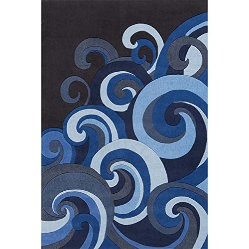 Momeni Lil Mo Hipster 2' X 3' Rug in Surf