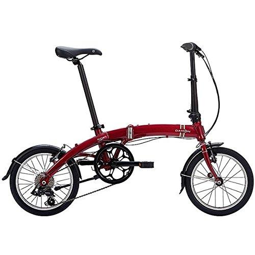 DAHON(ダホン) 折りたたみ自転車 Curve D7 ボルドー B076P7ZZ9P