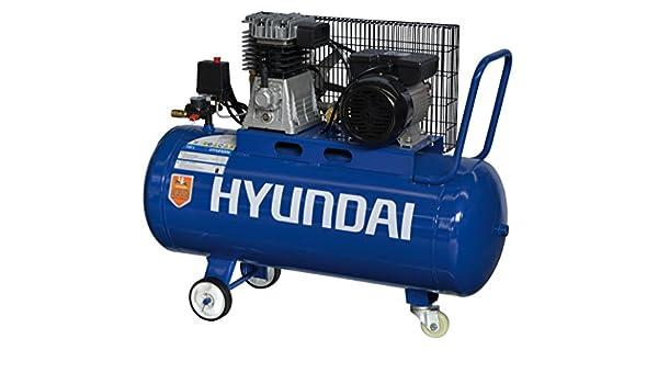 Compressore aria 100 lt Hyundai 65604: Amazon.es: Bricolaje y herramientas