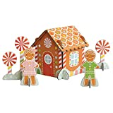 Petit Collage Pop-Out Gingerbread House