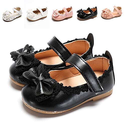 (Sawimlgy US Toddler Baby Girls Slip On Mary Jane Flats Princess Dress Shoes Summer Sandals Ballerina Wedding Party Outdoor Shoes (Toddler/Little Kid))