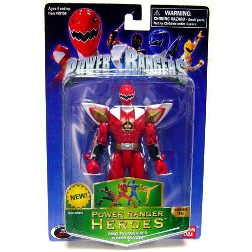(Power Rangers Heroes Dino Thunder Series 16 Action Figure Red Ranger)