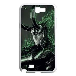 WJHSSB Diy Phone Case Thor Loki Pattern Hard Case For Samsung Galaxy Note 2 N7100