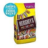 HERSHEY'S Miniatures Chocolate Candy Assortment, 35.9 oz Bulk Bag