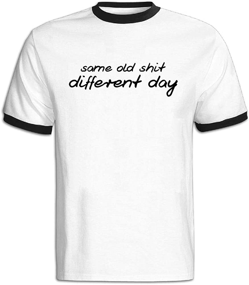 Create Your Own Funshirt Hit Color Tshirts for Men Different Day JACKJOM Same Old Shit