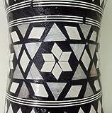 1PCS Large Egyptian Wooden Tabla Drum Doumbek Goat Skin Inlaid Handmade 11\