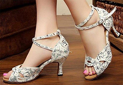 Taille Semelle Sandales Latin PU Taogo 35To41 bal xie Pompes Chaussures Femmes Danse de Salle souple zwzOp7q