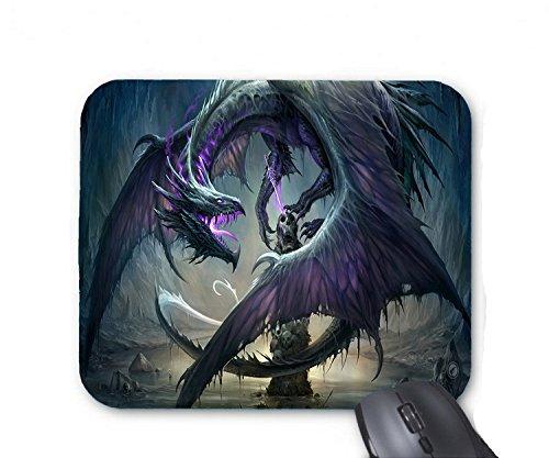 Black dragon standing on the skull tower mouse (Skull Tower)