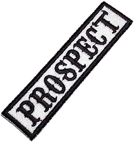 Prospect bordado parche 10 X 4 cm
