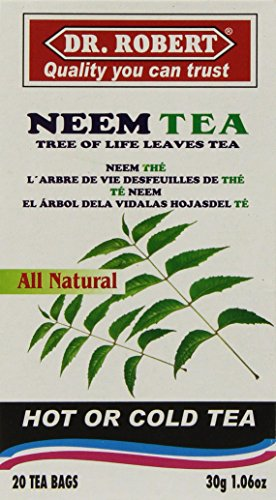 Neem Tea (Dr Robert Neem Leaves Tea -20Tbags/30g)