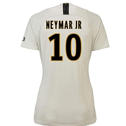 9b15fc7285f29 Amazon.com : 2018-19 PSG Away Womens Football Soccer T-Shirt Jersey ...