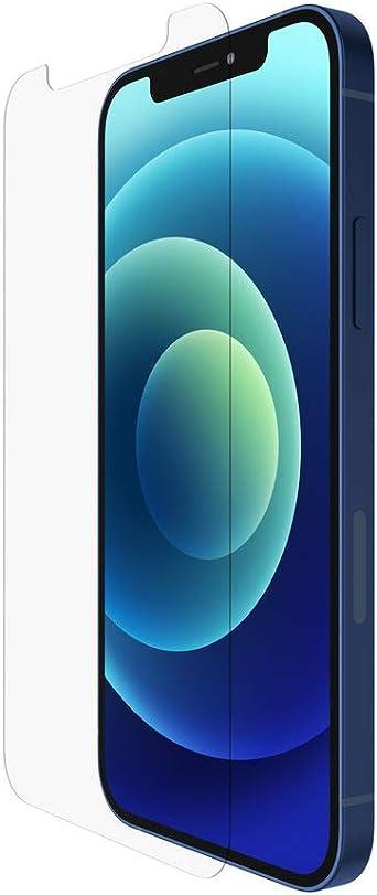 Belkin Iphone 12 Pro Iphone 12 Displayschutz Temperedglass Antimikrobiell Hochentwickelter Schutz Der Bakterien Auf Dem Display Um Bis Zu 99 Reduziert Elektronik