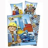 Bob the Builder Cotton Single/US Twin Duvet Cover and Pillowcase Set