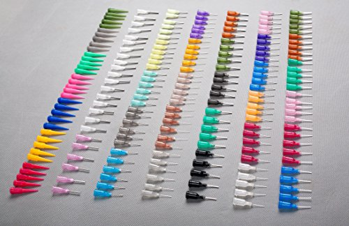- SummitLink Huge Assortment of 200 pcs Combo Needle Tips Multi Purpose Precision Applicator fit on Standard Syringe