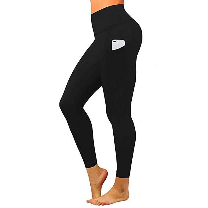 Amazon.com: iNoDoZ - Pantalones de yoga para mujer de ...