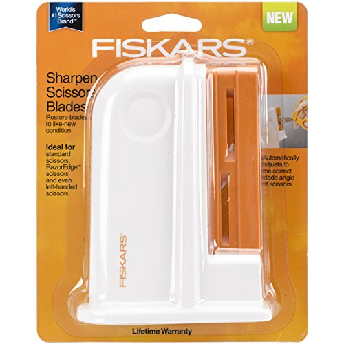Fiskars Desktop Universal Scissors Sharpener (198620) (Universal Kitchen Scissors)